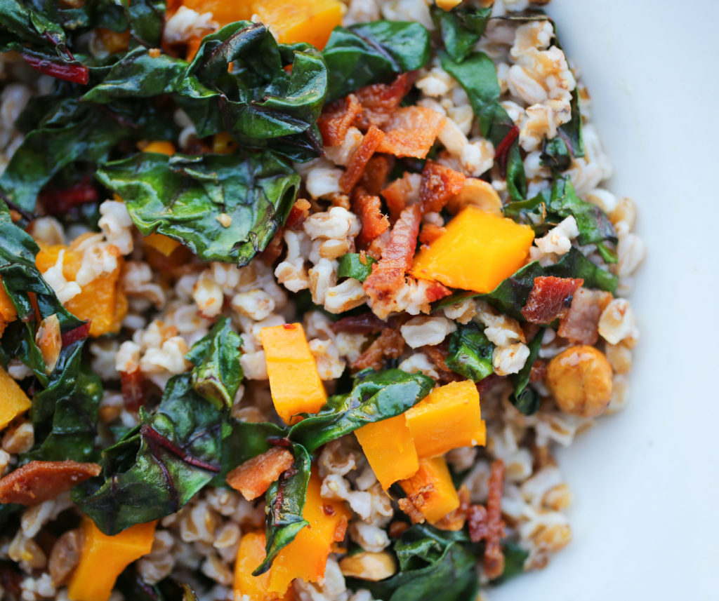 Warm Farro and Roasted Butternut Squash Salad | The ...