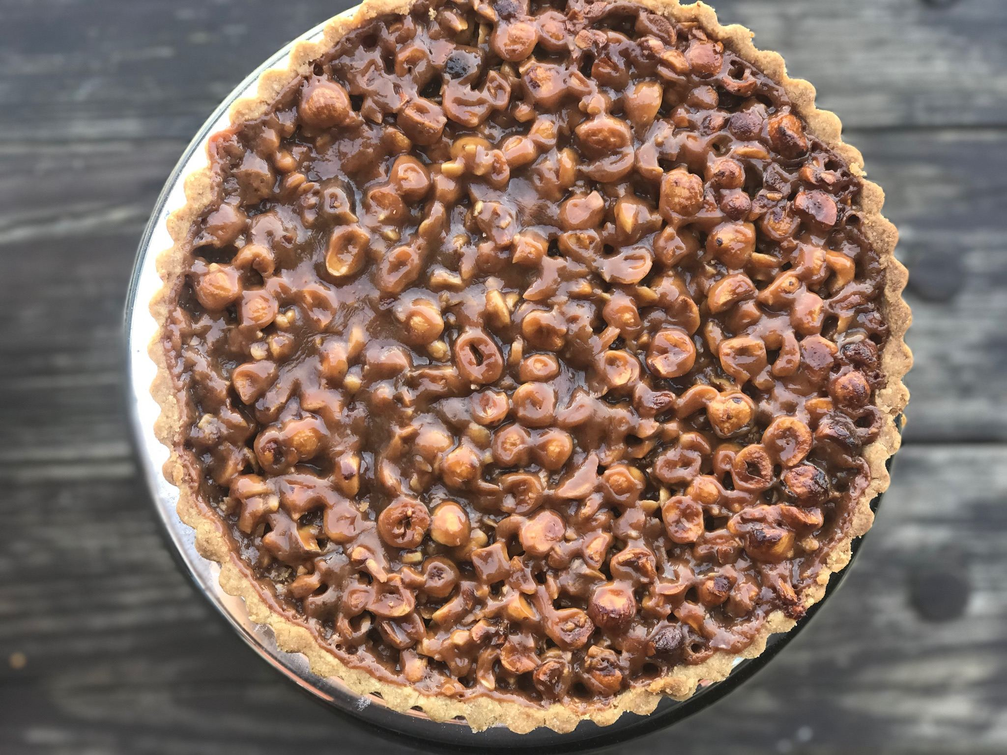 gourmandise hazelnut tart recipe