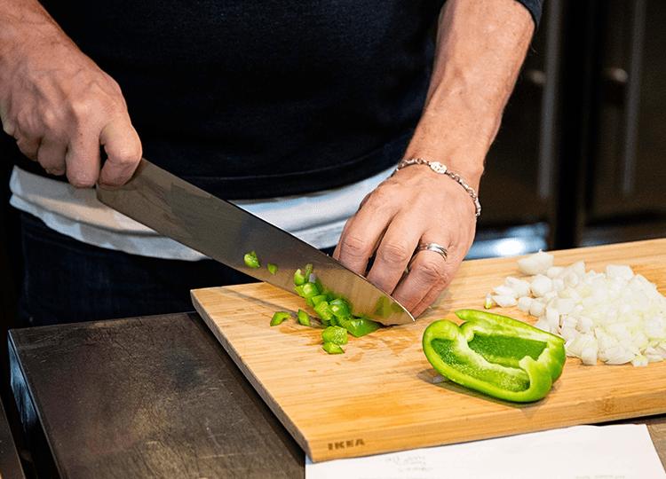 gourmandise knife skills class