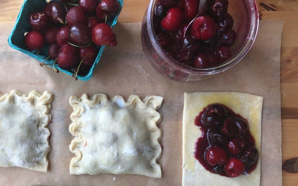 Cherry Hand Pies | The Gourmandise School