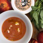 gourmandise peach soup recipe