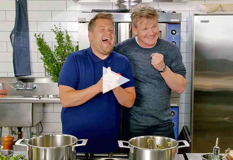 The F Word: Gordon Ramsay and James Corden