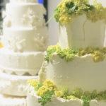 Elderflower Wedding Cake