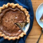 CHOCOLATE CHESS PIE GOURMANDISE RECIPE