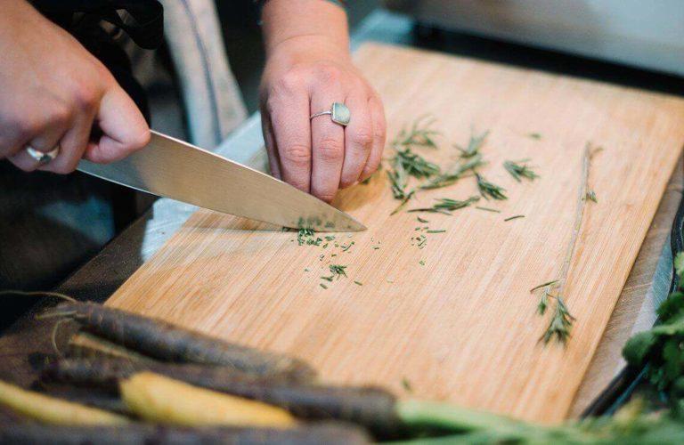 Knife skills sharpening
