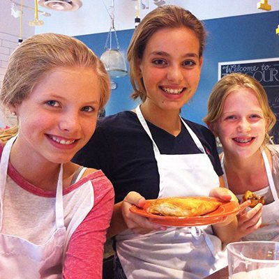 Kids Birthday Party Cooking Class