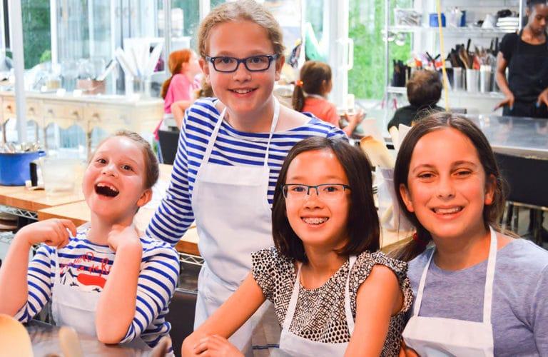 kids teens cooking class