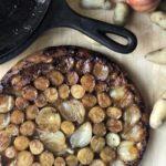 potato shallot tatin