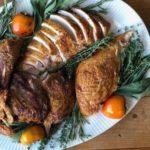 spatchcoked turkey
