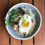 thai style chicken bowl