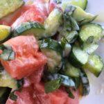 buttermilk watermelon salad