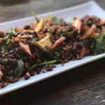 farro bacon spinach salad