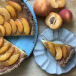 apricot flan tart