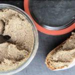 hazelnut mushroom paste