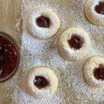 Gourmandise Jammy Thumbprint cookies recipe